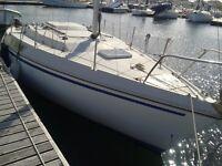 Small sailing Cruiser, Jeaneau Brio for sale