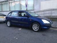 Lovely Honda Civic 1.6 Automatic, 44k Miles Only, FSH, 2 Owners, New Shape, Full Options, Auto