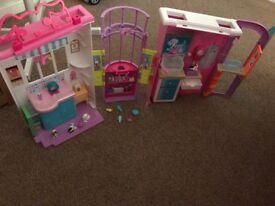 Barbie vet centre playset