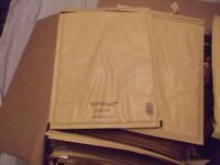 50 PADDED ENVELOPES IDEA OF SIZE WILL FIT 2 DVDS SIDE BY SIDE I CUT THEM DOWN FOR SMALLER ITEMS