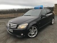 2008 09 MERCEDES C220 CDI 2.1 *DIESEL* 6 SPEED - FEBRUARY 2019 M.O.T - STUNNING EXAMPLE!!