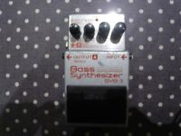 Boss SYB-3 Bass Synth Pedal £60