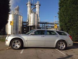 chrysler 300c estate 3.5 v6 bi-fuel(lpg) fully loaded 42k 2 keys