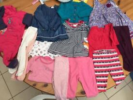 3-6 month old girls clothes bundle