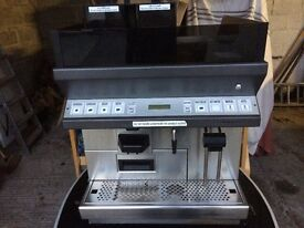 Black and White Bean to Cup Coffee Machine