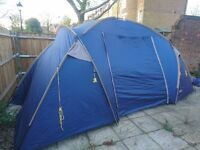 4 man / 6 man tent - Used but still in good condition