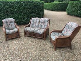 Set of garden or conservatory/garden room furniture