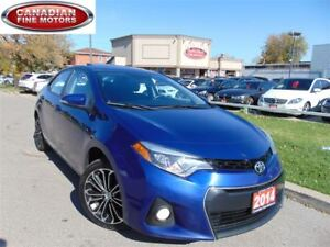 2014 Toyota Corolla S- LEATHER ROOF-SPORT PKG-CAM