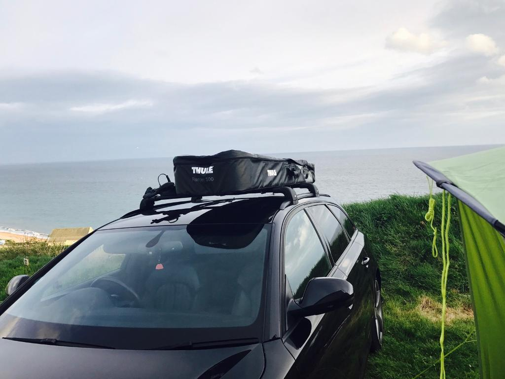 thule ranger 500 roof bag box in warminster wiltshire. Black Bedroom Furniture Sets. Home Design Ideas