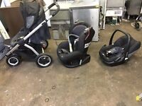 Maxi-Cosi car seat and pushchair