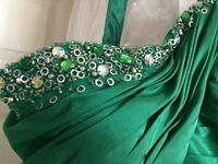 Green prom/bridesmaid dress