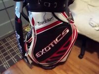 New Tour Edge Exotics Staff Golf Bag