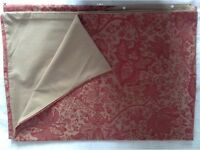 TWO QUALITY SANDERSON SINGLE BED DUVET COVERS