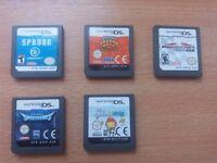 Nintendo DS games £5 each- Mario Kart, Monkey Ball, Scribble naughts, Spectrobes, Sprung