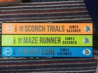 Maze runner book set