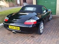 Porsche Boxster 986. Black with 96k FSH & MOT Jan 2018