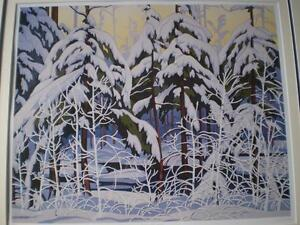 "A.J.Casson-""Snow Laden Spruce"" Limited Edition Print Kitchener / Waterloo Kitchener Area image 10"