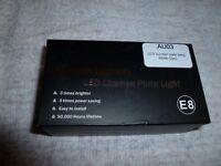 LED NUMBER PLATE LIGHTS FOR AUDI TT MK1 1998-2006