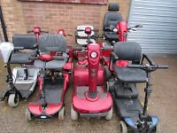 8 Mobility Scooters plus Extras - Spares or Repair