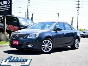 2014 Buick Verano Base Leather Sunroof Navi Alloys