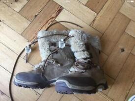Hi tec apres ski kids warm boots