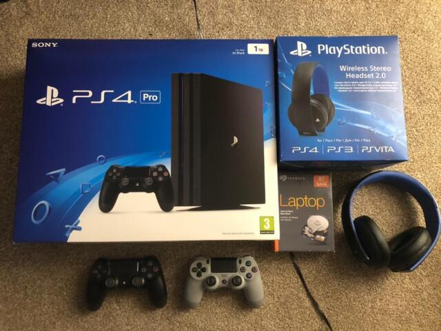 PS4 Pro Bundle for sale with 28 games | in Openshaw, Manchester | Gumtree