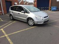 ford s max 2007 56 plate 1.8 tdci zetec 7 seater service history mot alloy wheels
