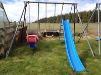 TP triple giant metal swingframe set