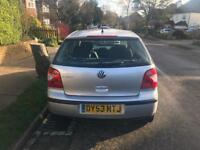Volkswagen Polo 2004 1.2 Manuel 65,778 Genuine LOW Mileage. 1 Owner Service History 1 Year NEW MOT