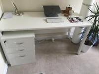 Office desk & drawers