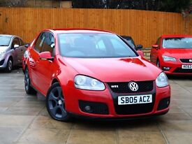 2005 VW GOLF 2.0 TFSI GTI DSG ***2 OWNERS, FSH, NEW OIL PUMP*** *** gtd gt a3 s3 tdi leon edition 30