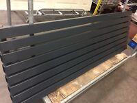 Designer anthracite radiator RRp £450