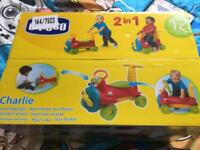 Chicco Charlie 2 in 1 sit-on Plane