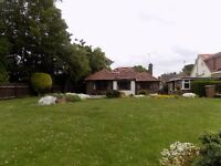 Well Presented Spacious 3/4 Bed Bungalow Close to Train Station, Motorway, Hospital - Available Now