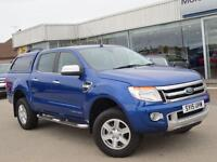 Ford Ranger RANGER LIMITED 4X4 TDCI (blue) 2015