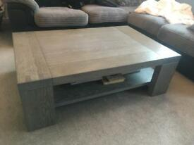 Coffee table Bristol solid oak