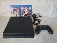 PS 4 slim 500gb --- 6 months old