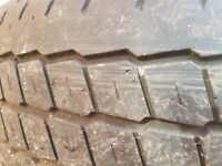 Set of 4 tyres and rims excellent tread 5 stud to fit Citroen dispatch