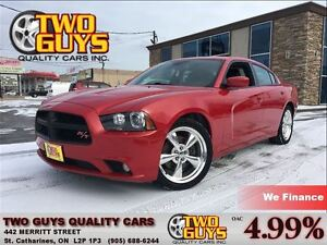 2012 Dodge Charger R/T NAVIGATION LEATHER SUNROOF