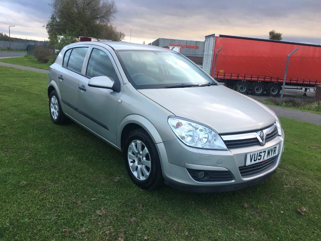 57 REG VAUXHALL ASTRA 1.7 CDTi LIFE 5DR-LOW MILES-GREAT MPG-1ST TIME STARTER-GREAT DRIVING DIESEL