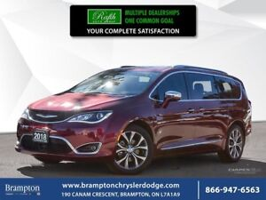 2018 Chrysler Pacifica LIMITED   EX CHRYSLER COMPANY DEMO