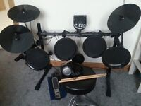 Alesis DM6 Drum Kit with Stool, headphones and Drum Sticks