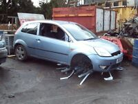 ford fiesta breaking for parts all parts available