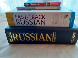 FAST TRACK RUSSIAN course pack + Dictionary & Phrase books