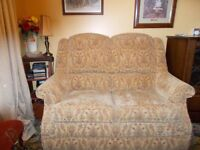 PARKER KNOLL TWO SEATER SOFA AND ONE CHAIR