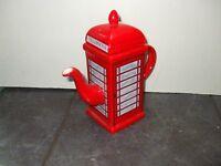 Red Telephone Tea Pot