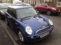 Mini Hatchback One 2004 - EXCELLENT CONDITIONS - Low Mileage (64,000) - UPDATED FOR NEW MOT!