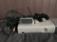 Xbox 360 with accessories & 25 games