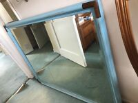 39inches x 29inches wall mirror - unmarked great condition