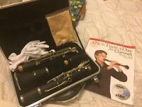 Clarinet and book